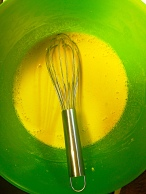 Batter Whisked Smooth