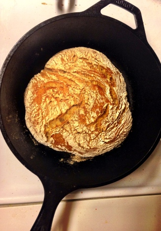 bread in pan 1
