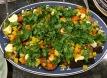 eggplant tricolore full dish