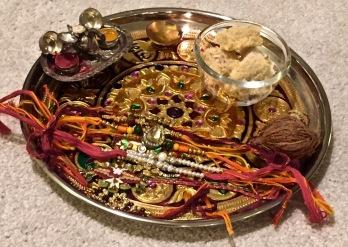 Rakhi Plate/Pooja ki thalli