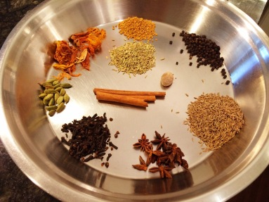 Spices for Garam Masala