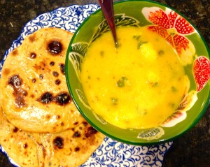 Aloo Kaa Jhol (Indian Potato Soup)