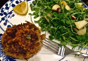 Crab Cakes Ready to Eat!