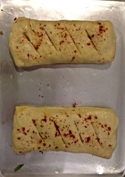 Stromboli Ready for Baking