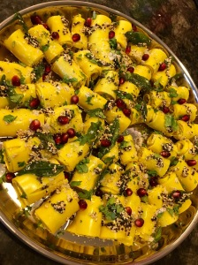 Khandvi for Diwali