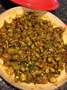 Bhindi Sabzi for Diwali